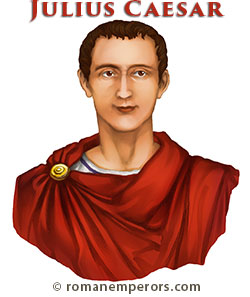 Illustration of Julius Caesar