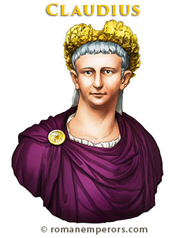 Claudius Illustration - romanemperors.com