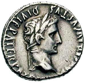 Coin of Augustus 1  - RomanEmperors.com