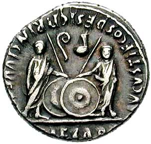 Coin of Augustus 2  - RomanEmperors.com
