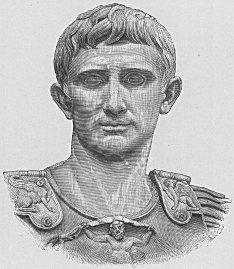 11 portrait sketch of augustus