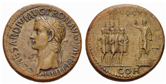 Sestertius of Caligula