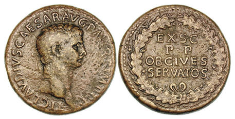Sestertius of Claudius