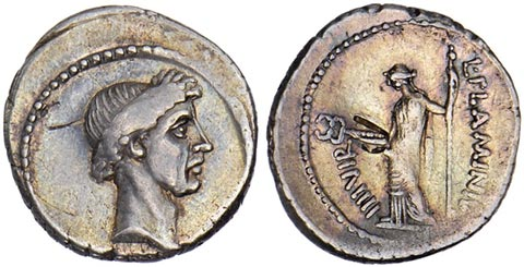 Julius Caesar and Pax Coin