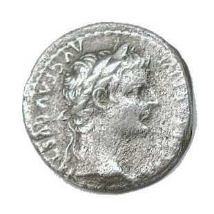 Tiberius Silver Coin