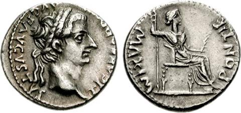 Tribute Penny of Tiberius